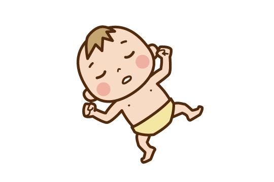 生後6か月の寝かしつけ