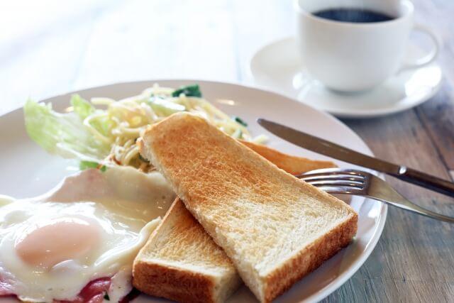 朝食ルーティーン