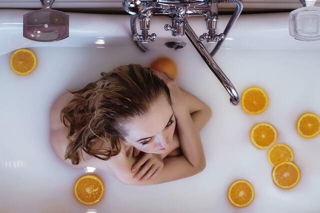 お風呂で清潔