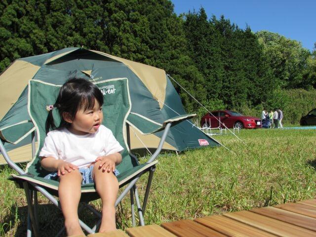 子供とキャンプ