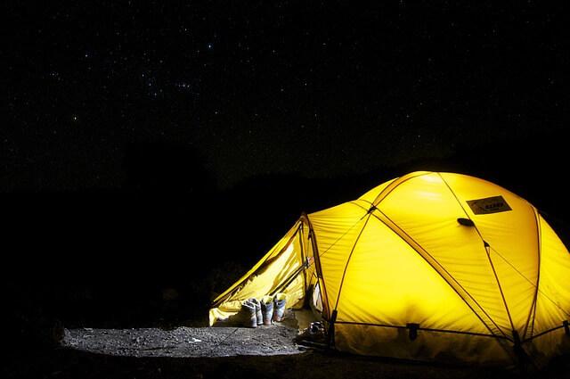 夜キャンプ