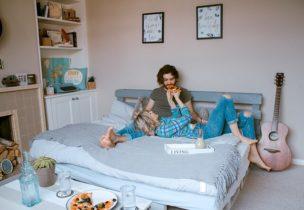 夫婦の寝室